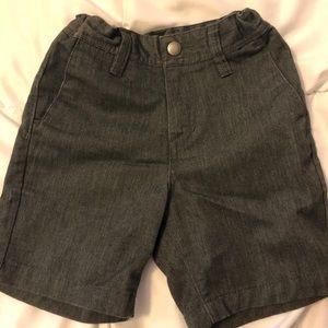 Dark grey Volcom shorts. Toddler 3t